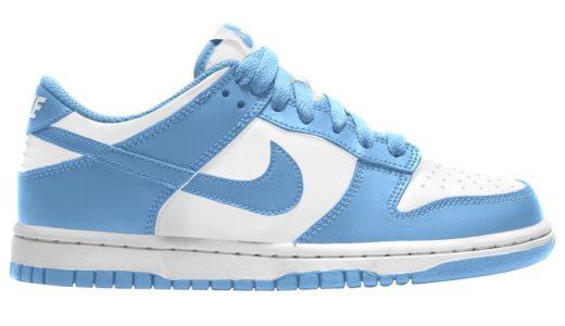 """【Nike】Dunk Low Retro """"University Blue""""が2021年初旬に発売予定"""