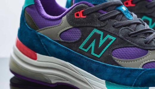 【New Balance】国内Billy's限定モデル〈M992TC〉のオンライン先行予約が12月19日より開始