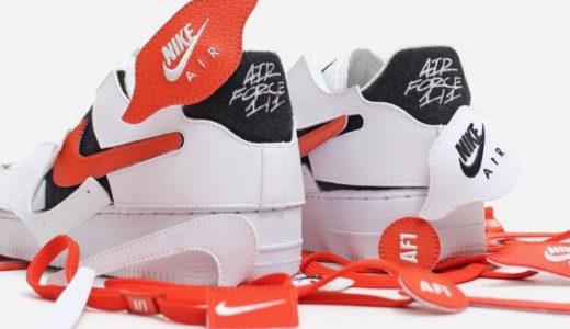 【Nike】アッパー全面がベルクロ仕様のAir Force 1/1 Lowが国内12月19日に発売予定
