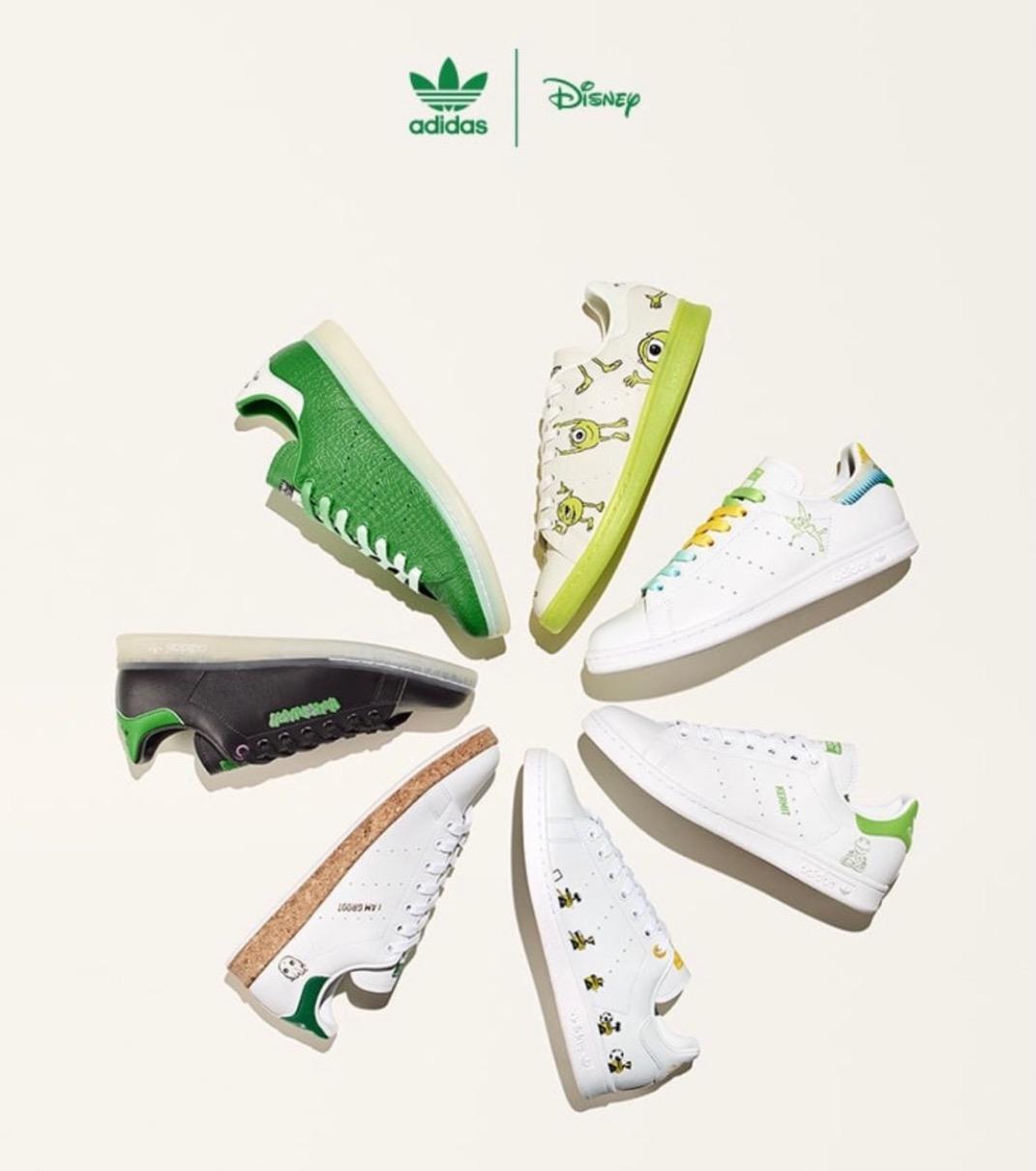 【adidas × Disney & Kermit & MARVEL】Stan Smith Collectionが国内4月4日/4月8日に発売予定