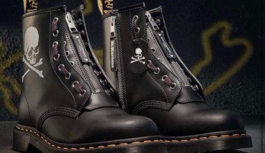 【Dr.Martens × MASTERMIND WORLD】60周年記念コラボ第12弾〈1460〉ブーツが12月12日に発売予定