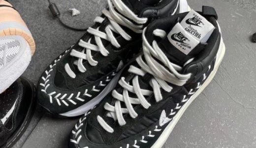 【Sacai × Nike × Jean-Paul Gaultier】トリプルコラボ VaporWaffleがリーク
