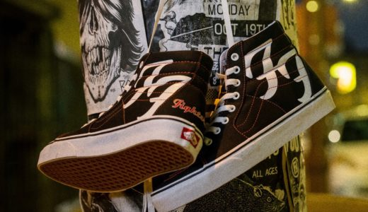"【Foo Fighters × Vans】Sk8-Hi ""25th Anniversary""が国内1月29日に発売予定"