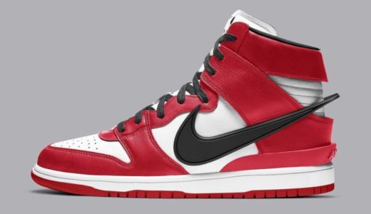 "【AMBUSH × Nike】YOONがDunk High ""Chicago""を公開"