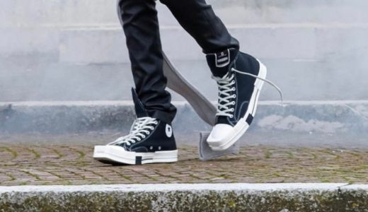 【Rick Owens DRKSHDW × Converse】TURBODRK Chuck 70が2021年後半に発売予定
