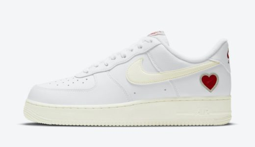 """【Nike】Air Force 1 Low """"Valentine's Day""""が国内2021年2月6日に発売予定"""