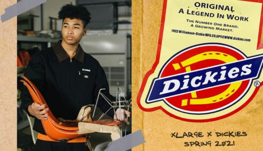 【XLARGE®︎ × Dickies】2021年春コラボコレクションが2月6日に発売予定