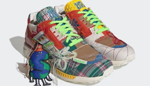 """【Sean Wotherspoon × adidas】ZX 8000 """"SUPER EARTH""""が国内近日発売予定"""