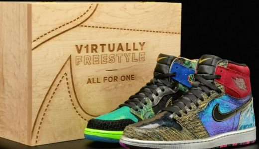 """【Nike】世界限定17足。Air Jordan 1 """"What The"""" Doernbecher 2021が登場"""