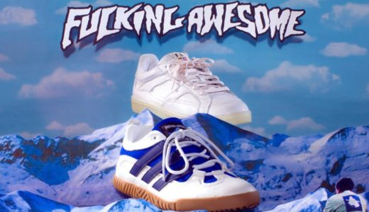 【adidas Skateboarding by Fucking Awesome】コラボコレクション第2弾が国内2月20日に発売予定