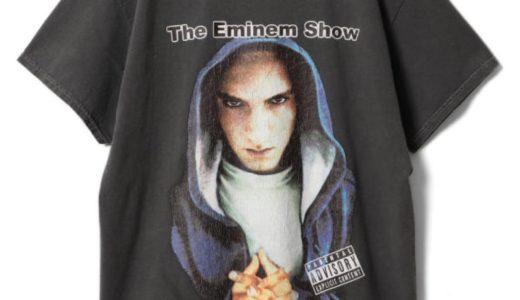 【Insonnia Projects × EMINEM】ヴィンテージ加工Tシャツが2021年3月上旬に発売予定
