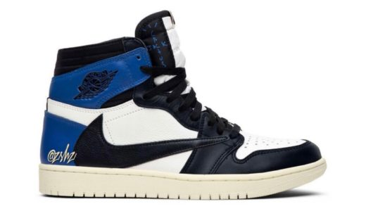 "【Travis Scott × Fragment × Nike】Air Jordan 1 High ""Cactus Jack Royal""がリーク"