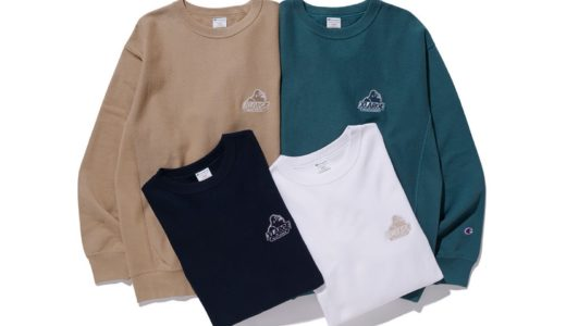 【XLARGE®︎ × Champion】OLD OG CREWNECK SWEATが国内2月19日に発売予定