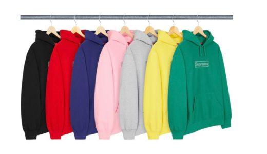 【Supreme】2021SSコレクションに登場するスウェットシャツ(Sweatshirts)