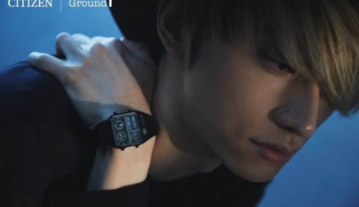 【Ground Y × CITIZEN】200本限定!コラボ腕時計が2月10日に発売予定
