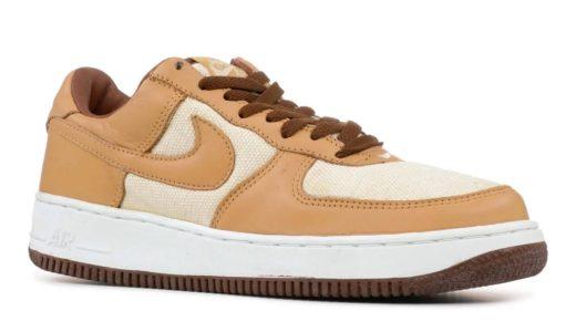 "【Nike】Air Force 1 Low QS ""Acorn""が国内4月29日に復刻発売予定"