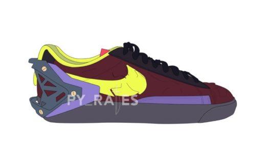 【Nike × ACRONYM】Blazer Lowが2021年秋に発売予定