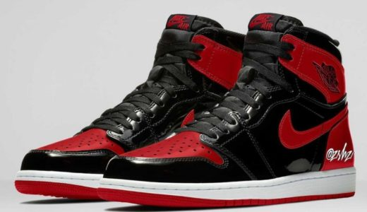 """【Nike】Air Jordan 1 Retro High OG """"Reimagined/Bred Patent""""が2021年10月23日に発売予定"""