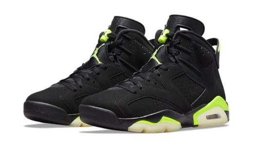 "【Nike】Air Jordan 6 Retro ""Electric Green""が2021年6月5日に発売予定"