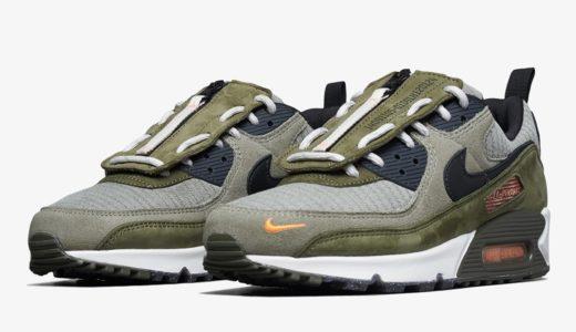 "【Nike】シュラウド搭載のAir Max 90 SE ""Surplus Supply""が3月19日に発売予定"