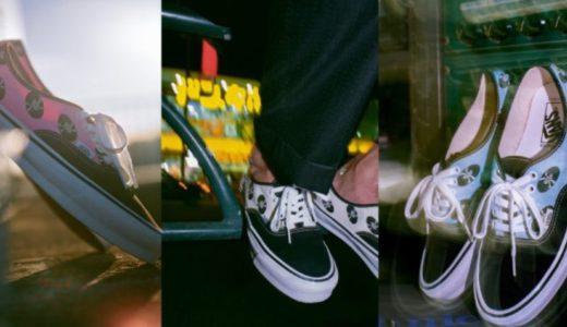 【WACKO MARIA × Vans by Vault】レコード柄の〈OG AUTHENTIC LX〉全3色が国内3月20日に発売予定