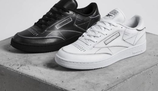 "【Maison Margiela × Reebok】PROJECT 0 Club C TL ""Black"" & ""White""が国内3月24日に発売予定"