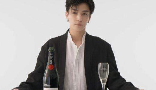 【Moët & Chandon × AMBUSH】コラボボトル〈モエ アンペリアル〉が国内3月26日より発売
