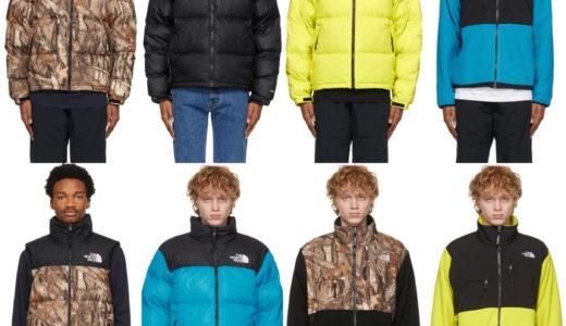 【The North Face】Nuptse & Denali ジャケットの海外限定カラーがSSENSEにて発売