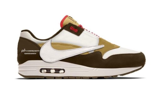 "【Travis Scott × Nike】Air Max 1 ""Cactus Jack""が国内近日発売予定か"