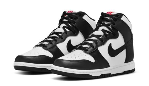 """【Nike】Wmns Dunk High """"White/Black""""が国内7月1日に再販予定"""