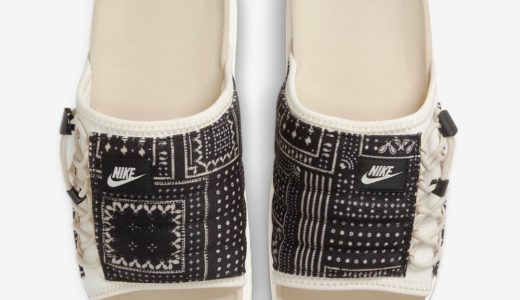 "【Nike】ペイズリー柄サンダル Asuna Slide ""Paisley""が国内4月17日/4月24日に発売予定"