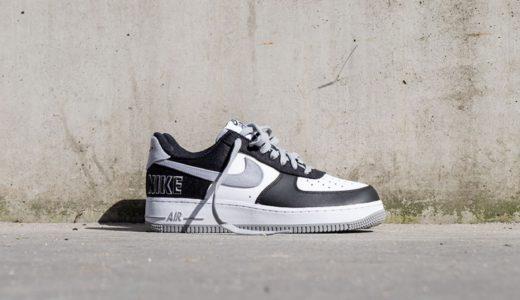 """【Nike】Air Force 1 '07 LV8 EMB """"Black Silver""""が2021年4月24日に発売予定"""