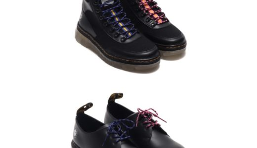 【Dr.Martens × atmos】〈1461〉3ホールシューズ & COMBS TECHブーツが国内4月17日に発売予定