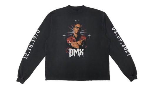 【YEEZY × BALENCIAGA】DMXにトリビュートを捧げた限定コラボTシャツが発売