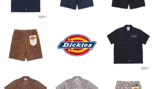 【Dickies × WACKO MARIA】2021年春夏コラボアイテムが4月24日に発売予定