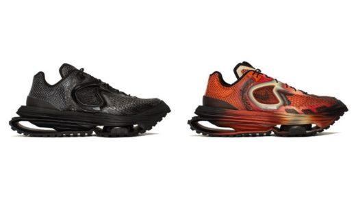 "【Matthew M Williams × Nike】Zoom MMW 4 ""Triple Black"" & ""Rust Factor""が海外4月27日に発売予定"