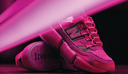 "【Jaden Smith × New Balance】Vision Racer ""Pink""が5月14日に発売予定"