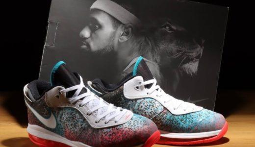 """【Nike】LeBron 8 V2 Low QS """"Miami Nights""""が国内5月11日に復刻発売予定"""