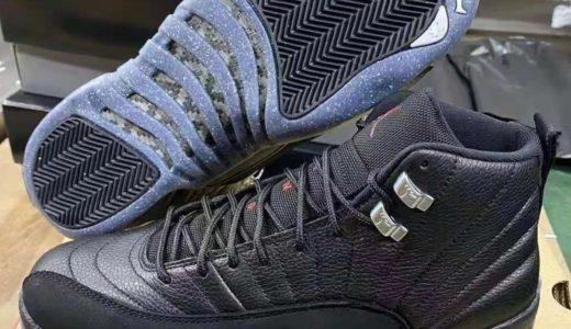 "【Nike】Air Jordan 12 Retro ""Utility Black""が8月21日に発売予定"