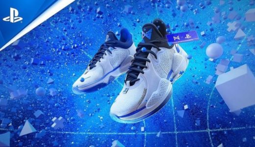 "【Nike × PS5】PG 5 EP ""PlayStation 5""が国内2021年5月14日に発売予定"