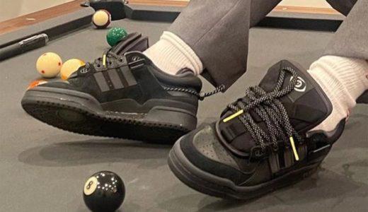 "【Bad Bunny × adidas】Forum '84 Low ""Triple Black""が2021年8月に発売予定"