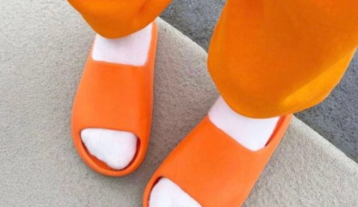 "【adidas】YEEZY SLIDE ""Enflame Orange""が6月21日に発売予定"