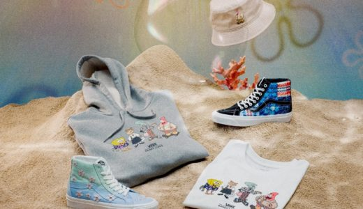 【Sandy Liang × SpongeBob × Vans】コラボコレクションが国内6月4日に発売予定