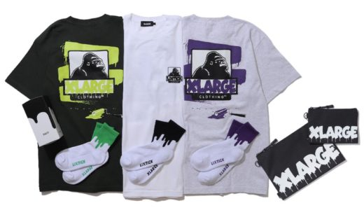 【XLARGE × LIXTICK™】最新コラボコレクションが国内6月26日に発売予定