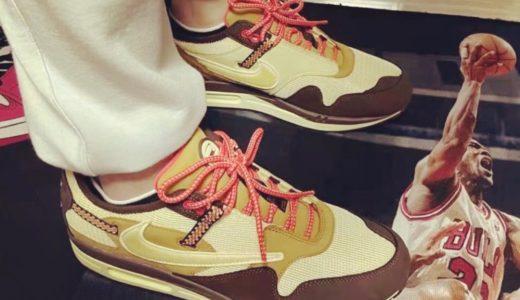 "【Travis Scott × Nike】Air Max 1 ""Cactus Jack""が2021年12月1日に発売予定"