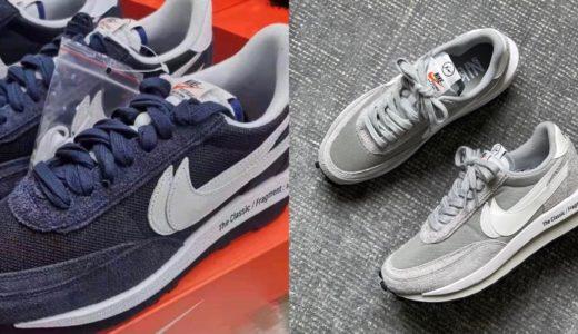 "【SACAI × Nike × FRAGMENT】LDWaffle ""Blue Void"" & ""Wolf Grey""が2021年夏に発売予定"