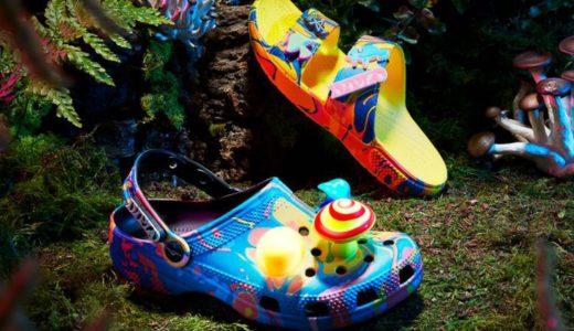 【Diplo × Crocs】暗闇で光るキノコの生えた Classic Clog & Classic Sandalが6月8日に発売予定