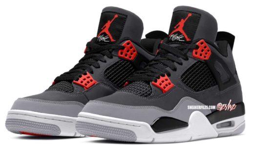 "【Nike】Air Jordan 4 Retro ""Infrared""が2022年2月5日に発売予定"
