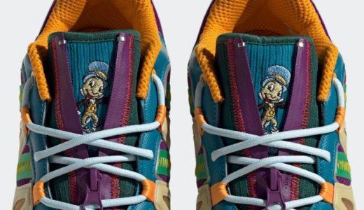 "【Sean Wotherspoon × Disney × adidas】Superturf Adventure ""Jiminy Cricket""が国内9月25日/10月2日に発売予定"