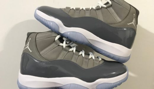 """【Nike】Air Jordan 11 Retro """"Cool Grey""""が2021年12月11日に復刻発売予定"""